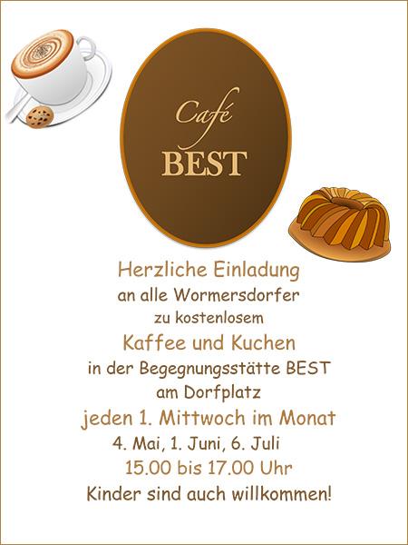 Kaffee Und Kuchen Im Cafe Best